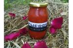 Rosii Cherry în bulion cu cimbru