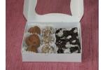 Mărțișor: Cutie cadou mix bomboane și ciocolată raw vegane