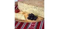 Brânză maturată  cu busuioc