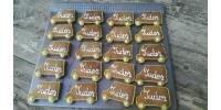 Turta dulce personalizata - 20 bucati